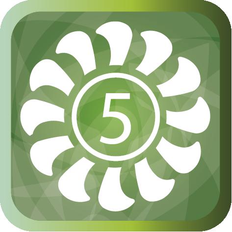 5 скоростей вентилятора внутреннего блока